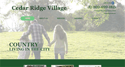 Preview of cedarridgevillage.net