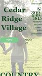 Mobile Preview of cedarridgevillage.net